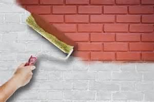 comment peindre un mur ext 233 rieur en briques