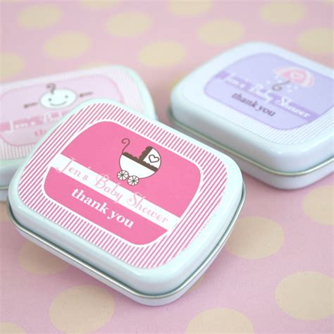 Baby Shower Mint Tins by Baby Shower Mint Tins The Bar Wrapper