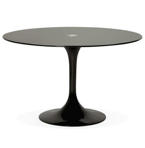 Ronde zwarte design eettafel alexia design tafel 216 120 cm