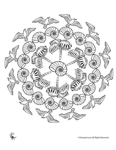 summer mandala coloring pages summer mandalas