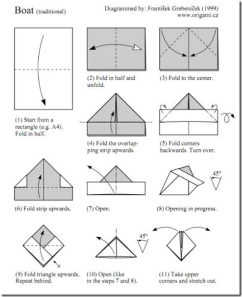 Free Origami Diagrams - 5 free origami diagrams and websites