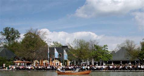 englischer garten ruderboot seehaus im englischen garten