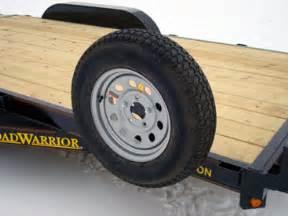 Trailer Tire Vibration Spare Tire Mount Johnson Trailer Co
