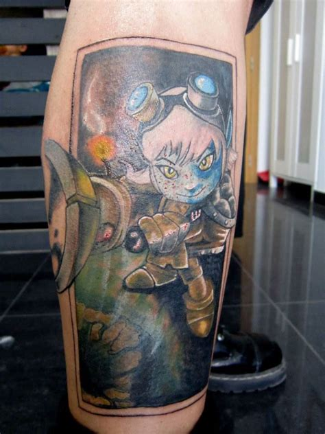 league of legends tattoo tristana league of legends by ryuseipt on deviantart
