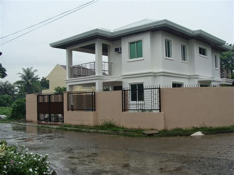 simple house design in philippines glenville subdivision house construction project in leganes iloilo philippines