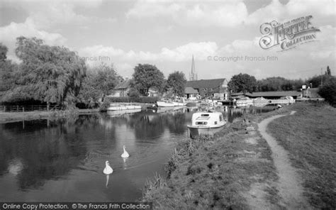 river thames map lechlade photo of lechlade the river thames c 1960 francis frith