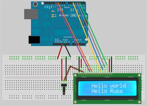 Lcd Arduino 2x16 tech that arduino 2x16 lcd display