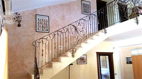ringhiera per scale interne ringhiere in ferro battuto per scale interne