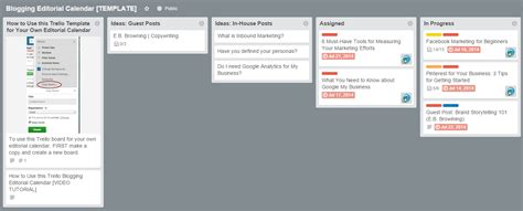 10 Of The Best Blogging Tools Sprout Social Trello Editorial Calendar Template