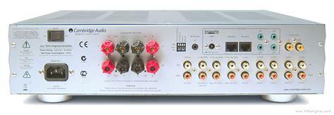 Cambridge Audio Azur 740a Manual Stereo Integrated