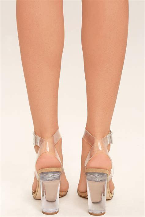 Steve Madden Clear Heels by Steve Madden Clearer Heels Clear Heels Lucite Heels 109 00