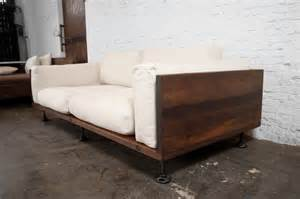 Outdoor Loveseat Cushions V44 Two Cushion Reclaimed Wood Sofa Modern Sofas Los