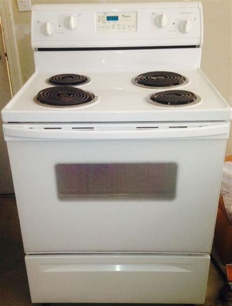 white cooktops whirlpool white 29 88 in electric cooktop 883049241654 ebay