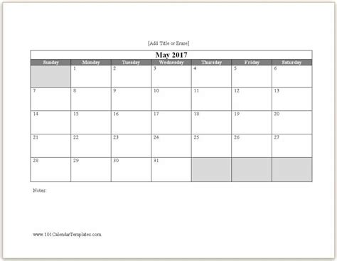 blank calendar 9 free printable microsoft word templates fine at a