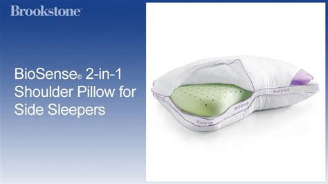Biosense Shoulder Pillow by Biosense 174 2 In 1 Shoulder Pillow For Side Sleepers