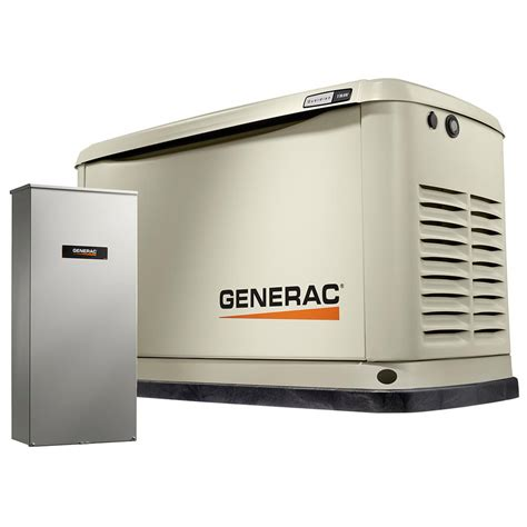 generac 11 000 watt lp 10 000 watt ng air cooled