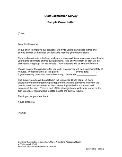 cover letter for questionnaire surveys survey cover letter sle icebergcoworking