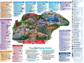 map of california adventure map of disneyland california adventure park images