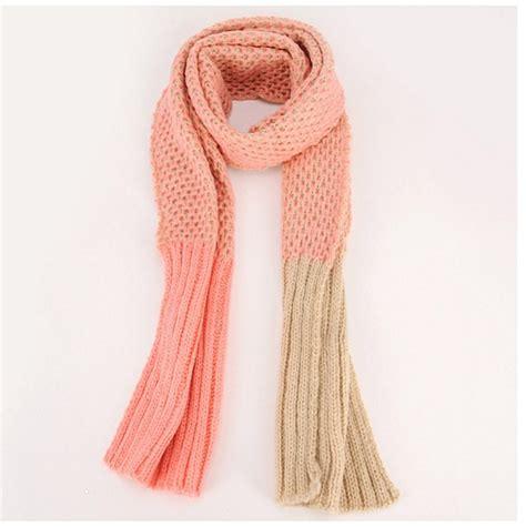Scarf Syal Wanita 47 syal scarf musim dingin 2 color knitted scarf 01eaf 23 coat korea