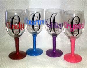 crystal s creative spot personalized wine glasses