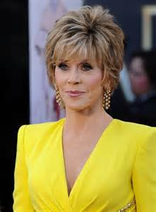 hairstyles for an 85year more pics of jane fonda layered razor cut 3 of 11 jane