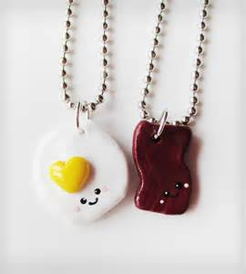 Patio Furniture Nj Bacon And Eggs Best Friends Necklace Set Jewelry