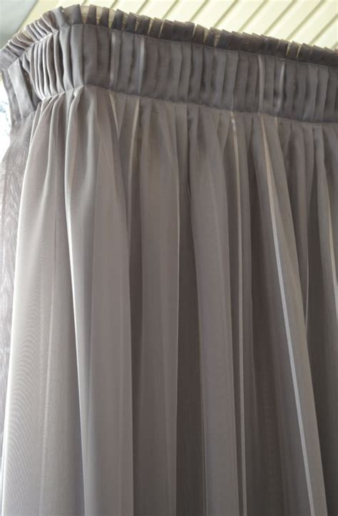 sheer pleated curtains knife pleat sheer curtain curtain heading types