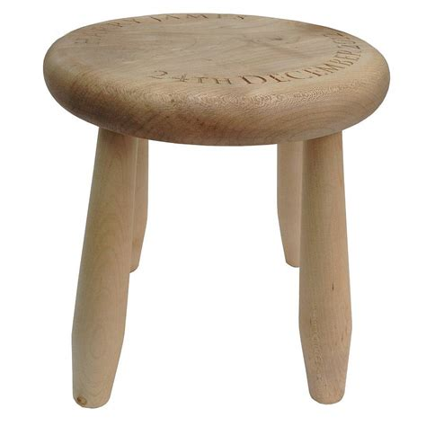 personalised child s stool by childs co