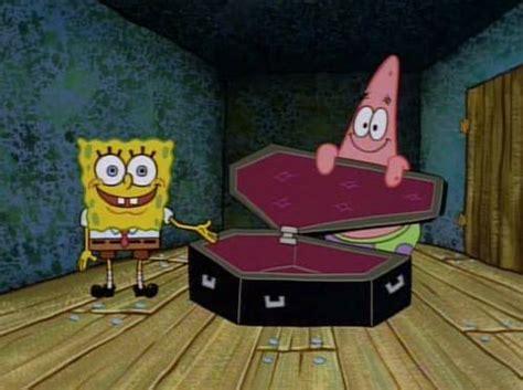 Casket Meme - coffin spongebob square pants picture