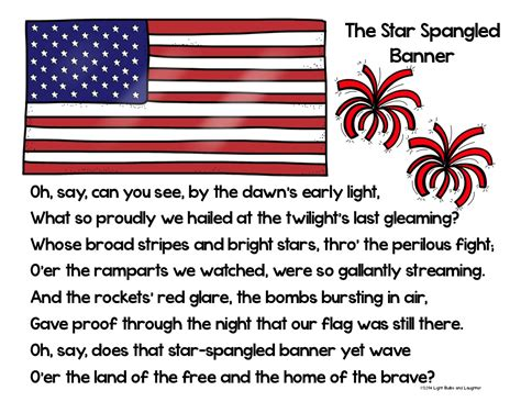 coloring page of the star spangled banner classroom freebies too the star spangled banner s 200th