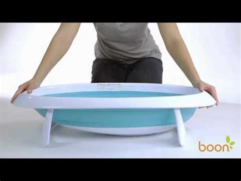 boon bathtub bath change potty boon naked collapsible baby bath