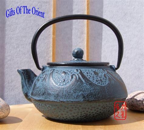 Rumauma Ceramic Tea Pot Set Wave Pattern tea set cast iron blue wave pattern tetsubin teapot 0 6 l trivet 2 white cups a boxed gift set