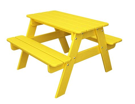 polywood kt30 children kid 039 s picnic table 12 colors ebay