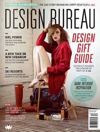 design bureau magazine press rao design modern interior design in chicago