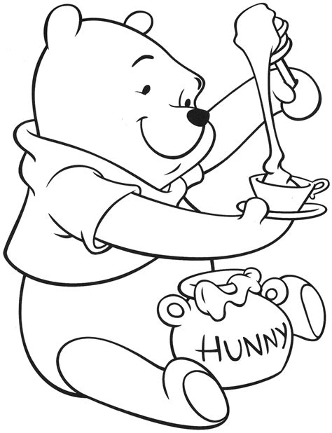 coloring pages printable winnie the pooh winnie the pooh will eat winnie the pooh coloring pages