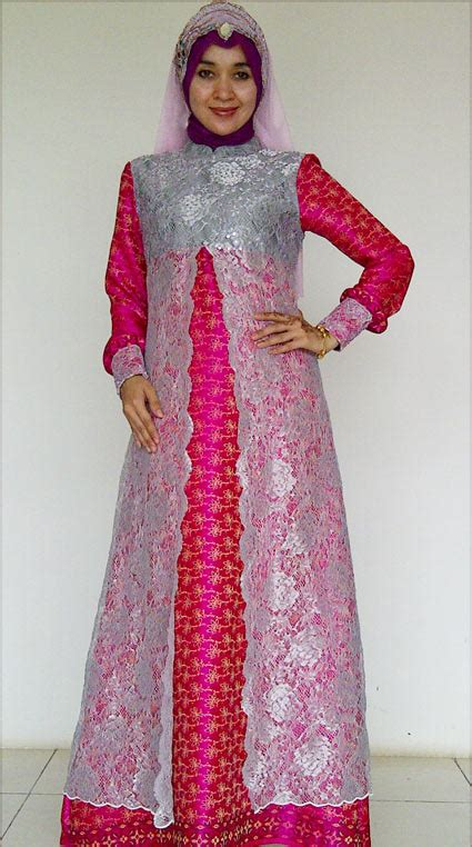 kebaya model gamis model gamis songket nuraya collection