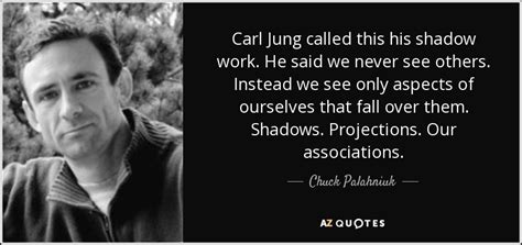 Marilyn Fighting Depression by Chuck Palahniuk Quote Carl Jung Called This His Shadow
