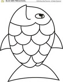 Template Fish by Rainbow Fish Template Coloring Home