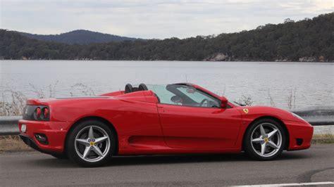 Ferrari 360 Hire by Ferrari 360 Spider Weekend Car Hire