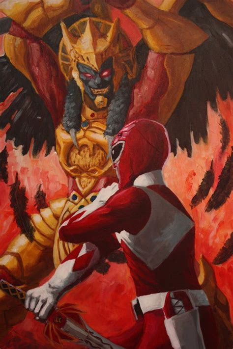 power rangers painting 17 best images about goldar s on plush