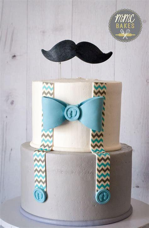 mmc bakes  man cake baby blue mustache cake baby shower cake san diego chula vista