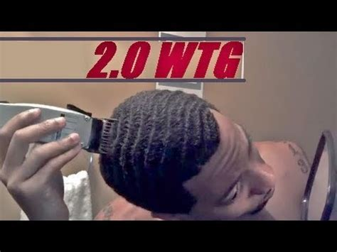 black man hair cut 2 gaurd how to cut number 2 guard wtg waves caesar haircut