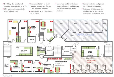Floor Plan Dental Clinic New Home For Healing Maliheh Free Clinic