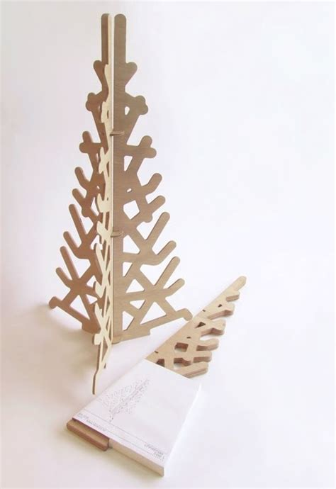 modern christmas trees tree crafts craft and modern