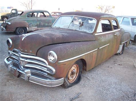 1950 dodge cars 1950 dodge coronet parts car 1