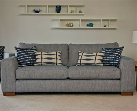 sofa with cushions hepburn two seater sofa with two scatter cushions and one