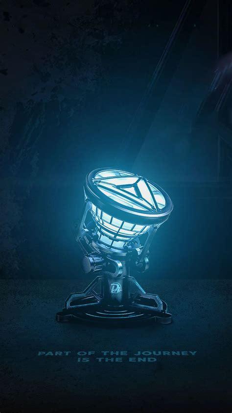 iron man arc reactor avengers endgame iphone wallpaper