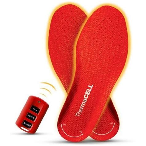 heated shoe inserts thermacell remote controlled heated shoe inserts craziest