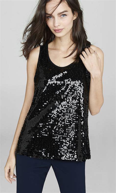 Squin Top Black Moles 7 dressy sequin tops