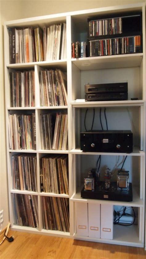 besta vinyl hyller reol til vinyl p 229 ikea